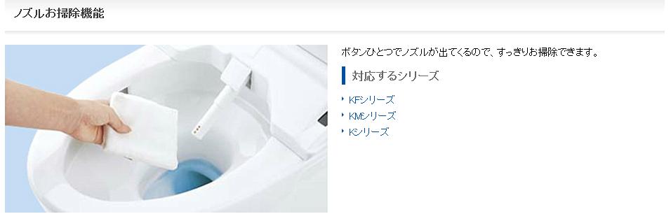 TOTO-清潔噴水頭功能